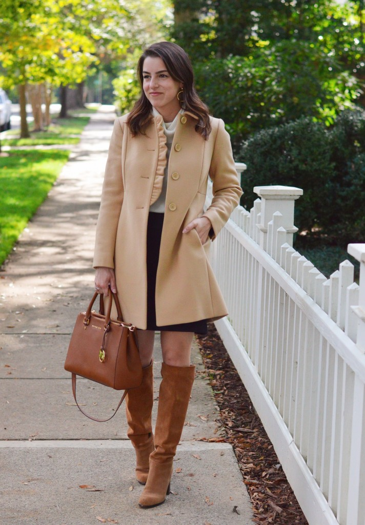 The Feminine Fall Coat 1