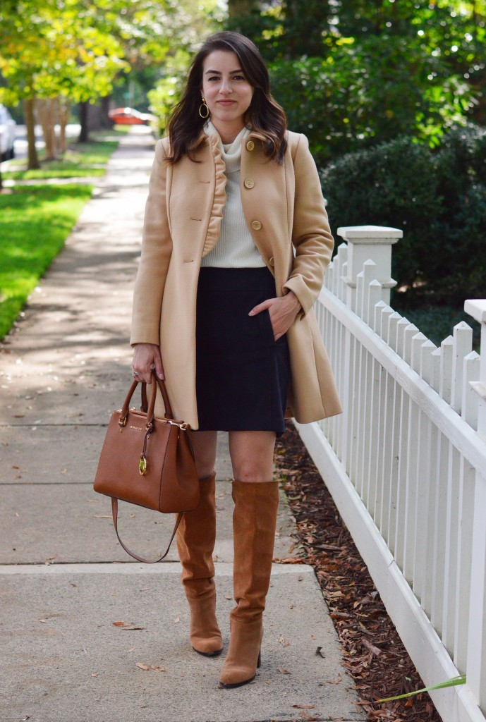 The Feminine Fall Coat 3