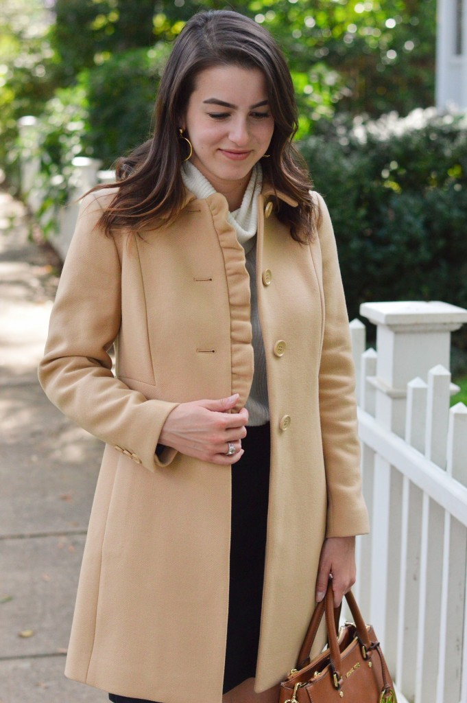 The Feminine Fall Coat 5