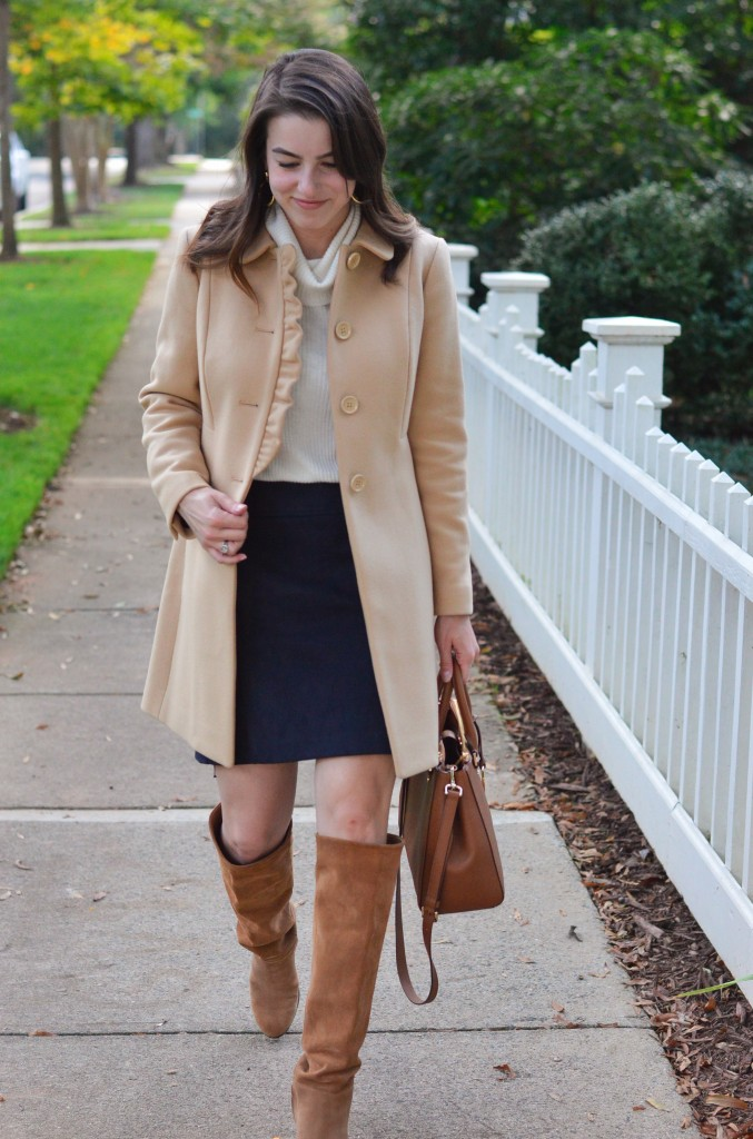 The Feminine Fall Coat 7